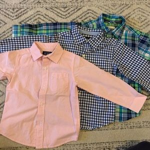 Lot of boys dress shirts